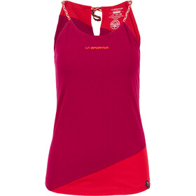La Sportiva Class Sleeveless Shirt Women red/purple